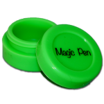 """Silicone Jar (Small) 1.5"""" diameter and 3/4"""" tall"""