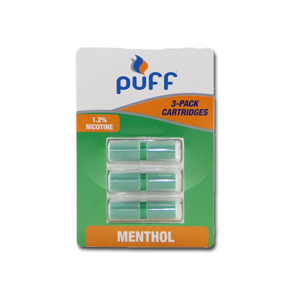 PRM12 - 3 Pack Menthol 1.2 SINGLE